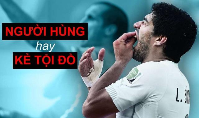 Suarez luôn là người hùng đối với người Uruguay