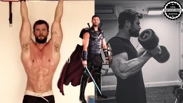 Chris Hemsworth từng tiết lộ anh tập gym cường độ cao để giữ dáng. Nam diễn viên này từng được tạp chí People bình chọn là người đàn ông hấp dẫn nhất thế giới