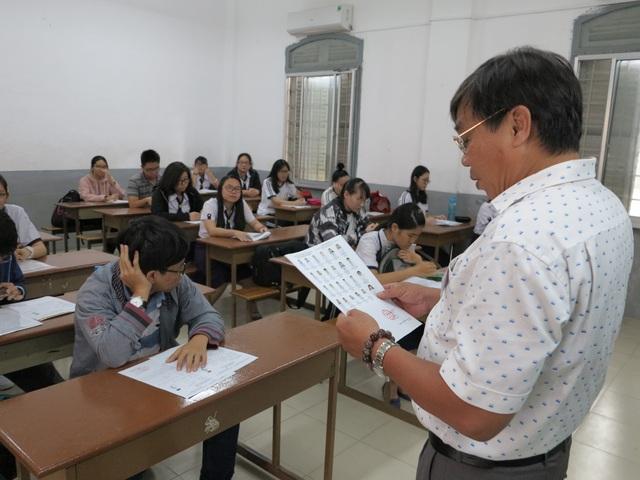 Thí sinh thi THPT quốc gia để xét tuyển vào ĐH năm nay