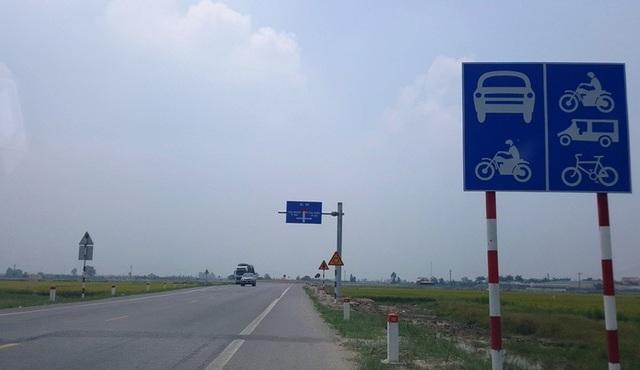 Đoạn đường tránh quốc lộ 10 đi qua huyện Đông Hưng