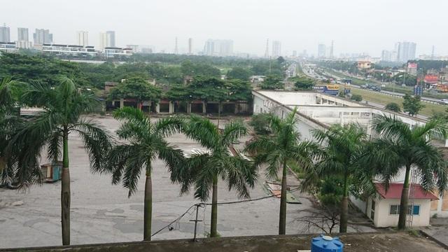 Khu đất dự kiến xây dựng bến xe khách Yên Sở