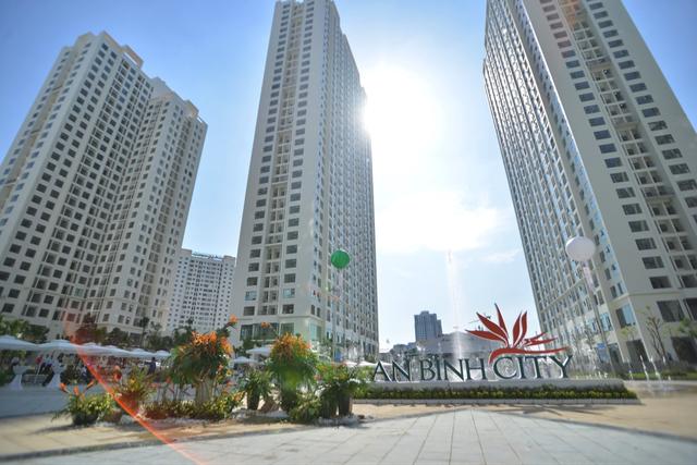 Chung cư An Bình City đã hoàn thiện và được đưa vào sử dụng