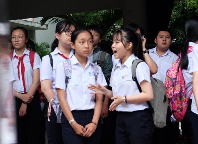Các thí sinh tham dự kỳ thi tuyển sinh lớp 10 năm học 2018 - 2019 ở Đà Nẵng