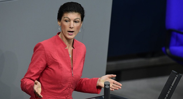Bà Sahra Wagenknecht (Ảnh: AFP)