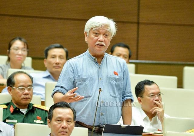 Đại biểu Dương Trung Quốc chất vấn Bộ trưởng GTVT Nguyễn Văn Thể