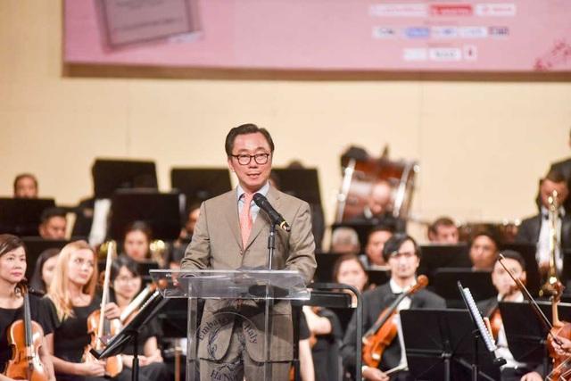 Ông Phạm Sanh Châu gửi lời cảm ơn sâu sắc với những đóng góp của Đại sứ Cecila Piccioni trong quan hệ ngoại giao hai nước.