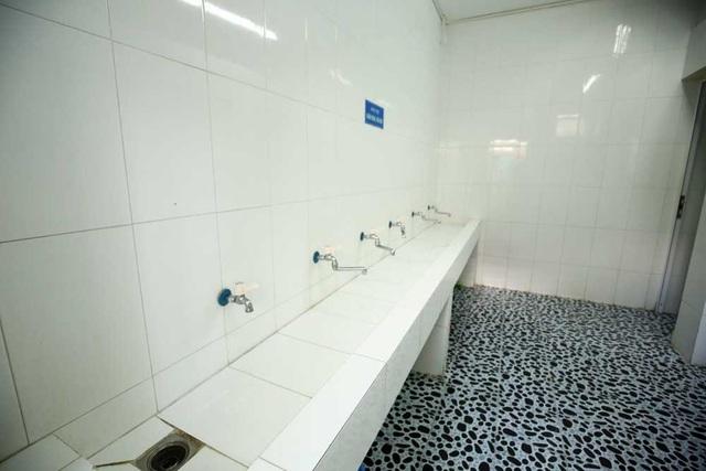 Khu vệ sinh của nhà trọ.