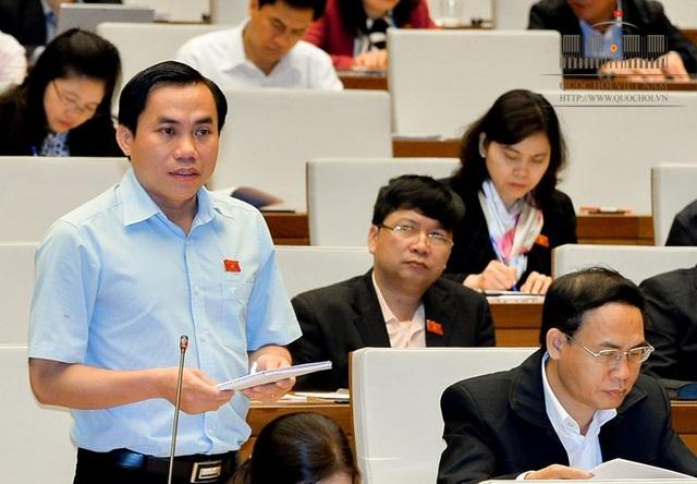 Đại biểu Quốc hội Lê Công Đỉnh (Long An) chất vấn về tình trạng sạt lở tại ĐBSCL