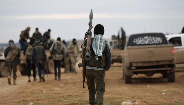 Các tay súng Hay'at Tahrir al-Sham Ảnh: AL MASDAR NEWS