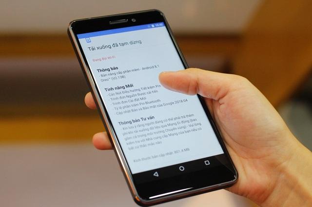 Với Nokia 6 mới, khách hàng sẽ có 2 sự lựa chọn bộ nhớ trong là 32GB hoặc 64GB.
