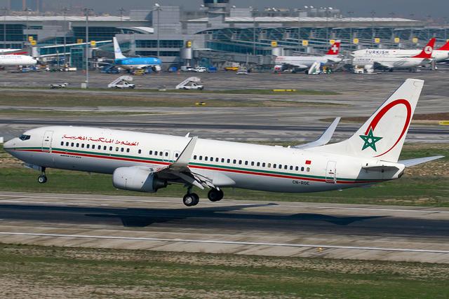Máy bay của hãng Royal Air Maroc (Ảnh: Wikipedia)