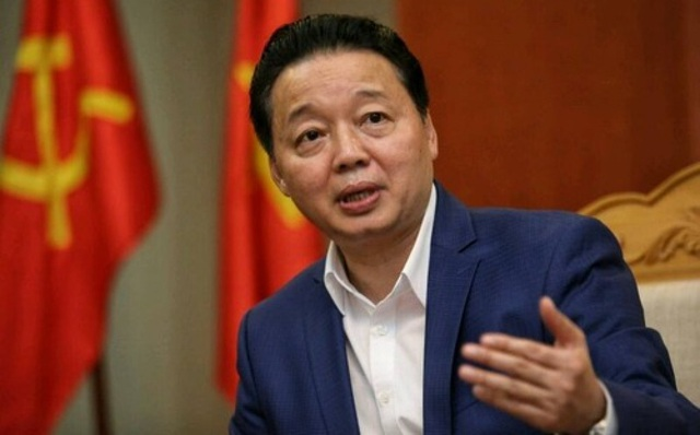 Bộ trưởng TN-MT Trần Hồng Hà