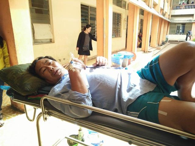 Ông Bình phải nhập viện mổ gấp sau khi bị bắn