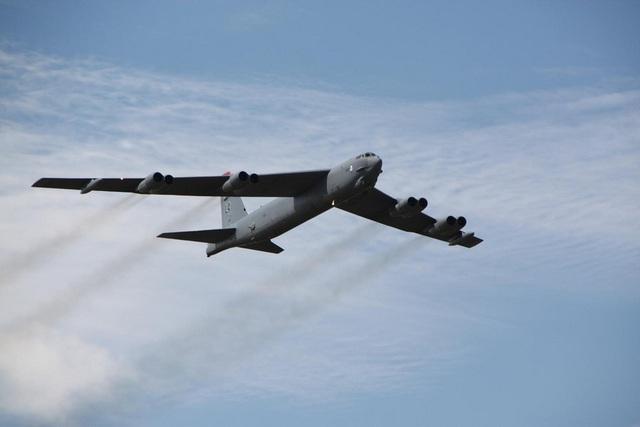 Một máy bay B-52 của Mỹ (Ảnh: PA)