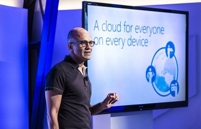 Nền tảng đám mây Azure là ưu tiên số 1 của Microsoft.