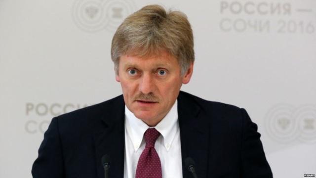 Người phát ngôn Điện Kremlin Dmitry Peskov (Ảnh: RFE)