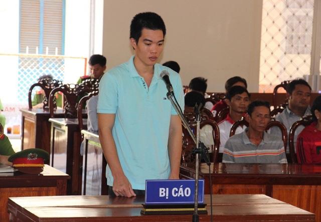 Bị cáo Lâm Văn Đởi tại phiên tòa sáng nay