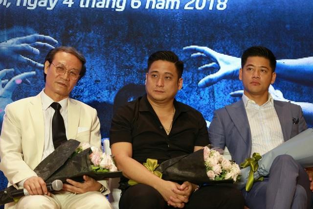 Diễn viên Minh Tiệp trong buổi ra mắt phim Quỳnh búp bê.