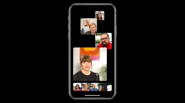 iOS 12 cho phép gọi điện FaceTime theo nhóm lên đến 32 người