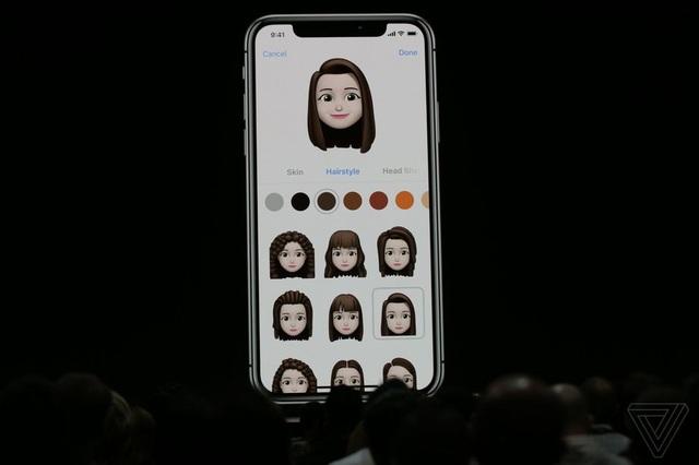 Memoji cho phép tạo ra các nhân vật nhãn dán giống người dùng