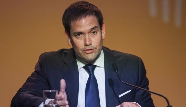 Thượng nghị sĩ Marco Rubio (Ảnh: Bloomberg)