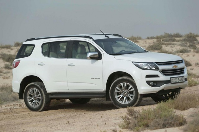 Chevrolet Trailblazer nhập khẩu hiện được ưu đãi giảm giá từ 50 - 80 triệu đồng