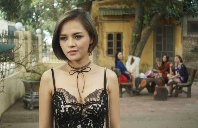 Vai của Thu Quỳnh trong phim mới là vai My sói, một cô gái làng chơi bị tha hoá.