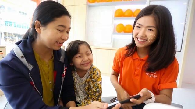 Mytel là mạng di động duy nhất tại Myanmar cung cấp dịch vụ 4G toàn quốc ngay khi khai khai trương.