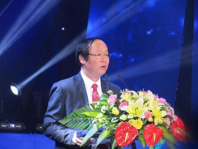 Thứ trưởng Bộ Tài nguyên và Môi trường Võ Tuấn Nhân phát biểu tại buổi phát động.
