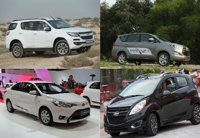 Đầu tháng 6/2018, nhiều mẫu xe cả lắp ráp lẫn nhập khẩu vẫn đang được các hãng, đại lý tích cực giảm giá