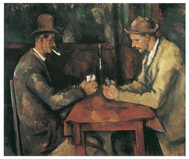 """3. Bức """"The Card Players"""" - danh họa người Pháp Paul Cézanne — 250 triệu USD"""