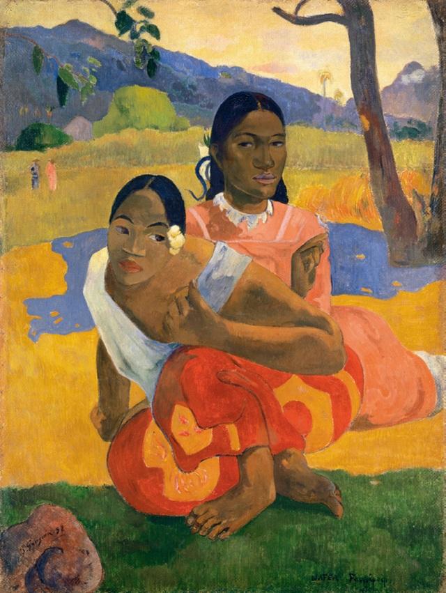 "4. Bức ""Nafea Fan Ipoipo (When Will You Marry)"" - danh họa người Pháp Paul Gauguin — 210 triệu USD"