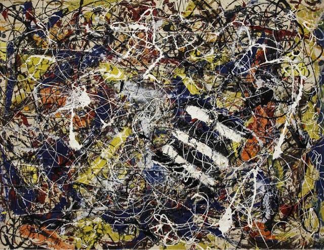 """5. Bức """"Number 17A"""" - danh họa người Mỹ Jackson Pollock — 200 triệu USD"""