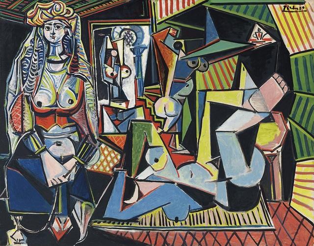 """8. Bức """"Les Femmes d'Algers (Version O)"""" - danh họa người Tây Ban Nha Pablo Picasso — 179,4 triệu USD"""