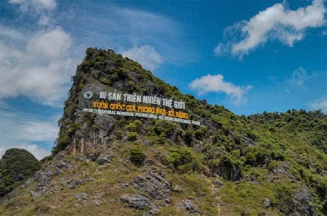 VQG Phong Nha - Kẻ Bàng được UNESCO 2 lần công nhận là Di sản thế giới
