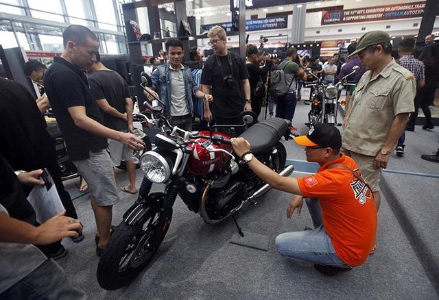 Triển lãm Auto Expo 2018: Cuộc chơi của các dòng môtô phân khối lớn - 12