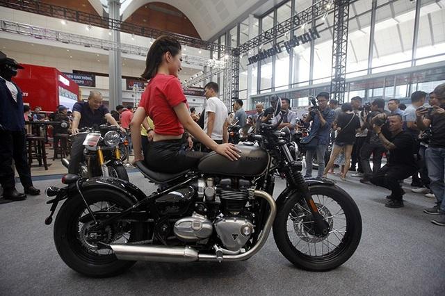 Triển lãm Auto Expo 2018: Cuộc chơi của các dòng môtô phân khối lớn - 11