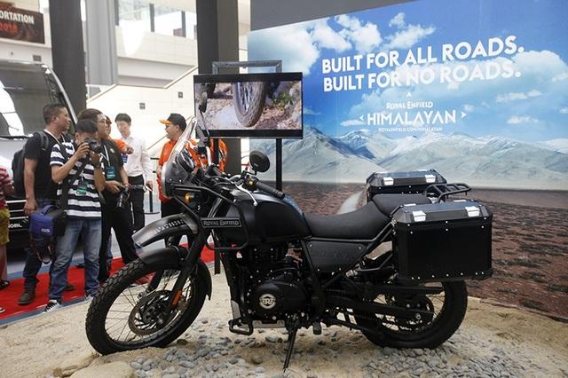 Royal Enfield Himalayan sẽ phải cạnh tranh vất vả cùng Kawasaki Versys-X tại Việt Nam.