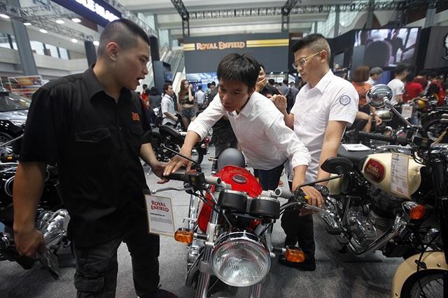 Triển lãm Auto Expo 2018: Cuộc chơi của các dòng môtô phân khối lớn - 10