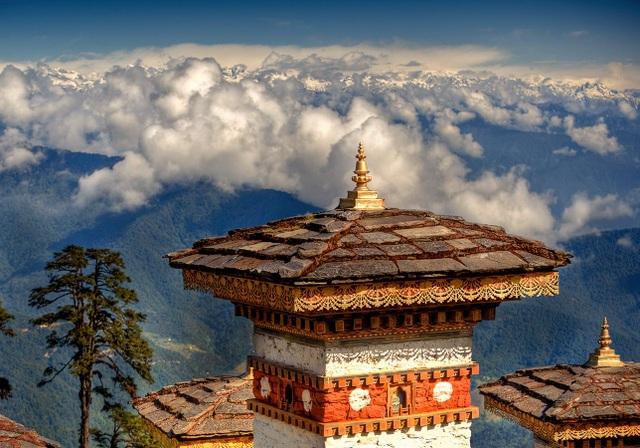 """Bhutan còn được gọi bằng cái tên trìu mến """"Shangri-la cuối cùng""""."""