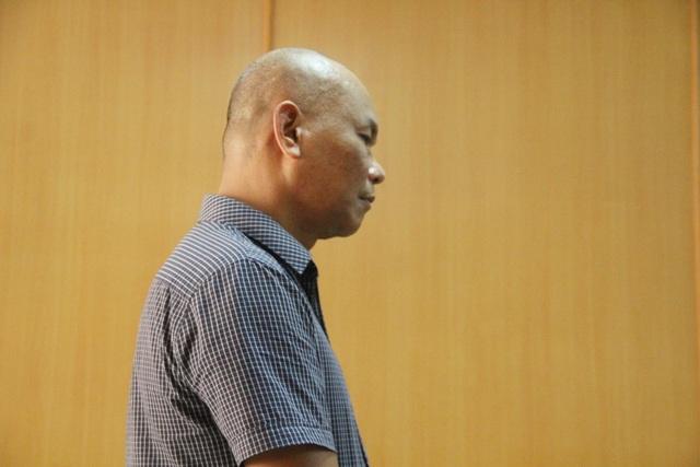 Bị cáo Miên tại phiên tòa.
