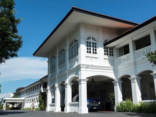 Khách sạn Capella trên đảo Sentosa của Singapore (Ảnh: Reuters)
