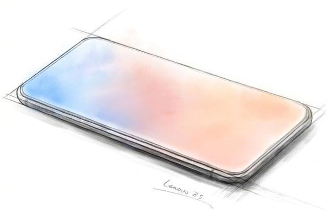 """Một hình ảnh quảng cáo khác về Z5 được Lenovo """"úp mở"""" cho thấy sản phẩm không hề có """"tai thỏ"""""""