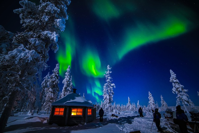 Hiện tượng thiên nhiên kì thú ở Murmansk.