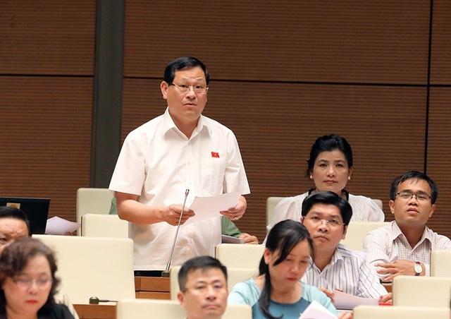 Đại biểu Nguyễn Hữu Cầu (ảnh: Như Phúc)