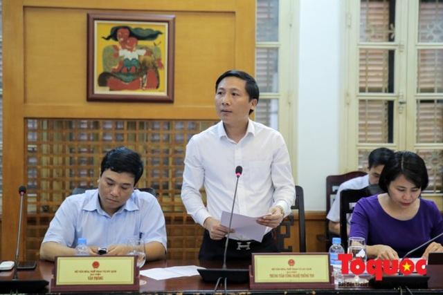 Ông Nguyễn Thanh Liêm, Giám đốc Trung tâm CNTT (Bộ VHTTDL).