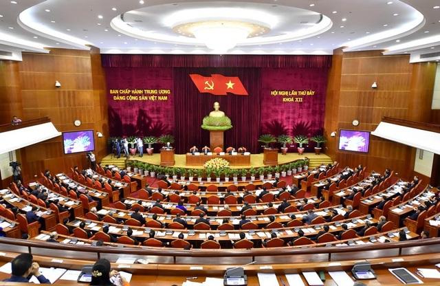 Hội nghị Trung ương 7 Khóa XII của Đảng đã ban hành nhiều Nghị quyết quan trọng (Ảnh: HH)