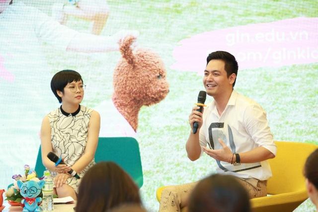 MC Phan Anh chia sẻ tại sự kiện GLN Kid's day