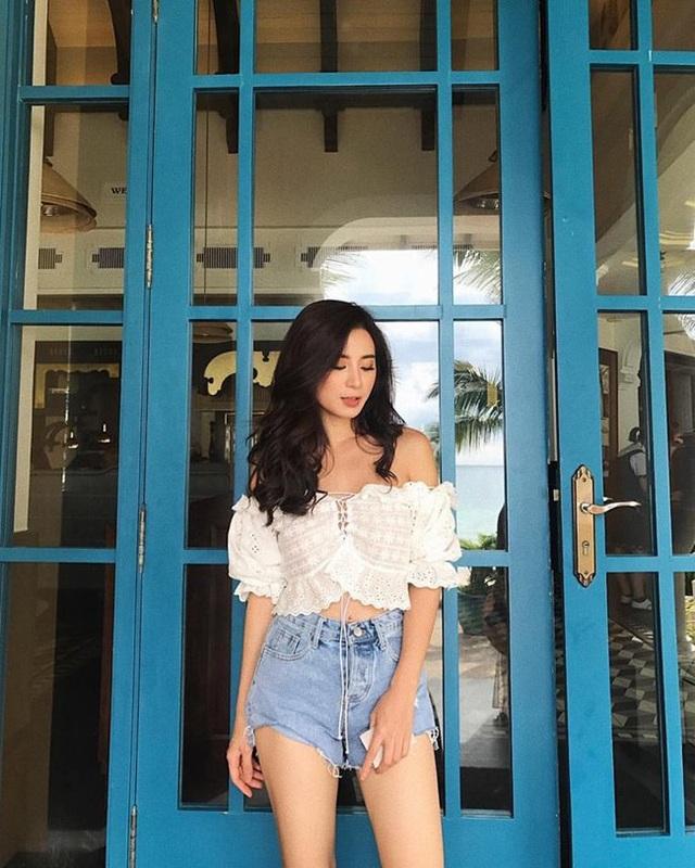 Trên Facebook và Instagram, Ngọc Anh nhận được nhiều lời khen ngợi về nhan sắc.
