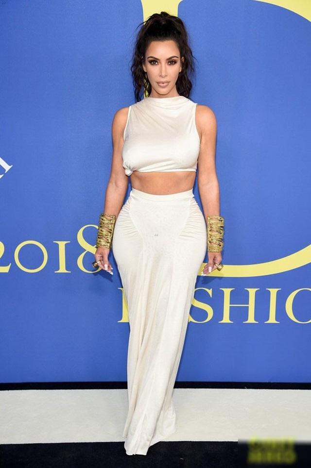 Ngôi sao truyền hình thực tế Kim Kardashian xuất hiện tại một sự kiện mới đây
